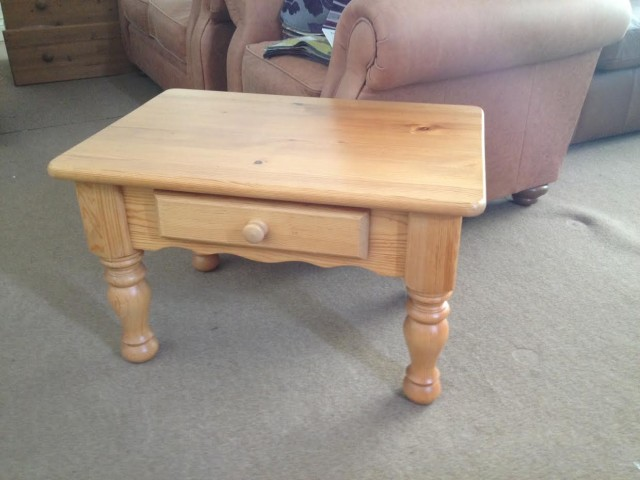 Sale Item Small Pine Coffee Table