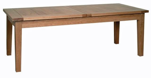 New oak large extending table