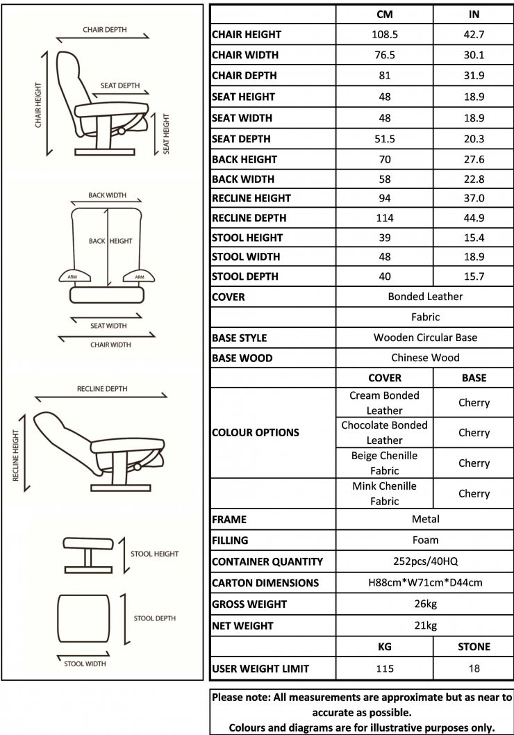 Recliner Chairs Furniture Ref Roy