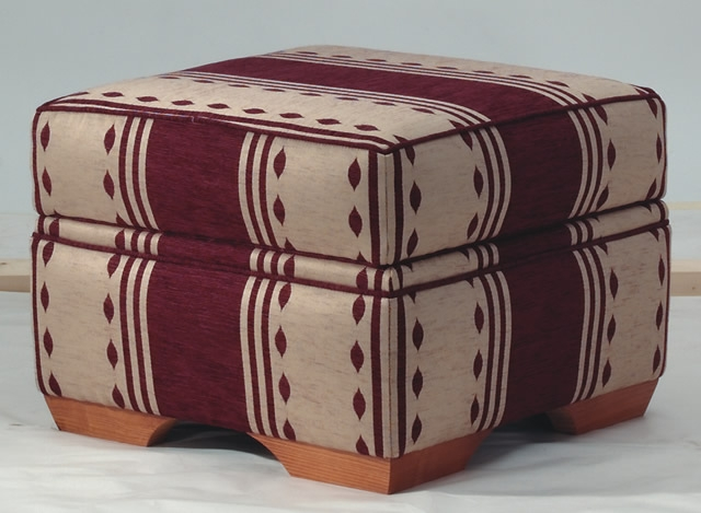 Highclere footstool
